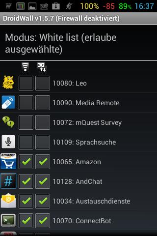 Adblocker Android Ausschalten